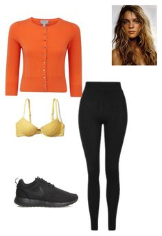 """Untitled #122"" by yasminabuwi on Polyvore featuring Hollister Co., Topshop, Pure Collection and NIKE"