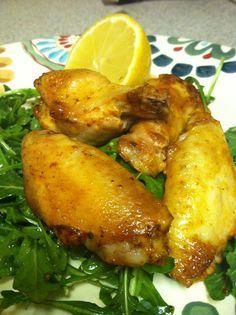 Lemon Garlic Chicken Wings   paleology101