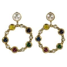 Loop Earrings   Chanel  Catchys