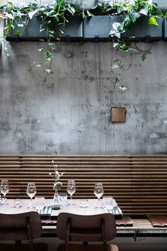 In with the Old: a Restaurant in Copenhagen Made with Upcycled Materials