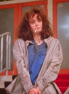 Winona Ryder in Heathers.
