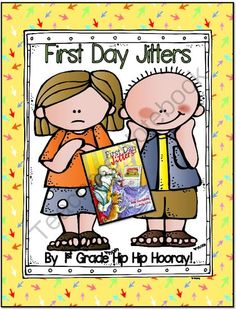 First Day Jitters...Craft and Activities...Save My Ink from First Grade Hip Hip Hooray on TeachersNotebook.com - (22 pages) - Word work, writing, and back to school with the First Day Jitters.