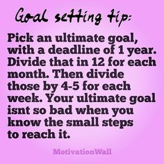 Be Proactive and make it happen! Its all in the planning!