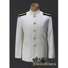 Imperial Japanese Navy Second Tunic (White Tunic)