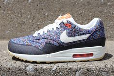 Liberty x Nike WMNS Air Max 1 Want these now!!!!