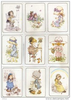 uy Sarah Key, Colouring Pages, Coloring Books, Susan Wheeler, Love Is Comic, Handmade Card Making, Holly Hobbie, Flower Fairies, Decoupage Paper