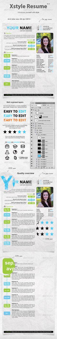 25 Free Creative Resume Templates