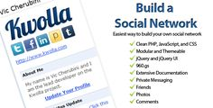 Kwolla Lite Social Network . Updated—This is the  FULL  version of Kwolla! Version 1.5, same exact version that is sold on http://kwolla.com. Special deal for Code Canyon