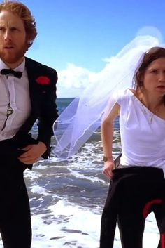 """This couple announced their wedding date with """"Operation: Save The Date,"""" an epic """"Mission Impossible""""-style adventure short Wedding Dreams, Dream Wedding, Wedding Day, Save The Date Video, Invites, Wedding Invitations, Mission Impossible, Amazing Weddings, Wedding Videos"""
