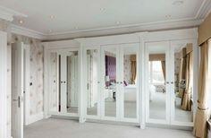Mirror Design Ideas: 10 Best mirrored doors for wardrobes, Custom ...