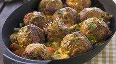 Gemüse-Hackfleisch-Curry
