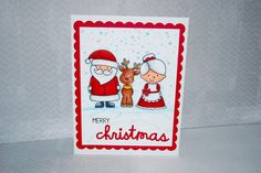 Avery Elle set -North pole pals . Christmas card . This set has so many cute images.
