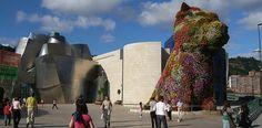 The Puppy -taideteos Bilbaossa - http://www.rantapallo.fi/espanja/bilbao/ #spain #bilbao #guggenheim