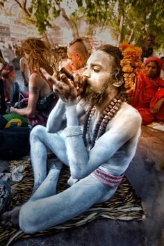 Ganja Smoking, Kumbh Mela, India