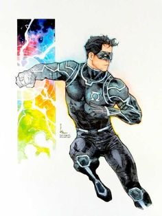Comic Movies, Comic Books Art, Comic Art, Superhero Characters, Dc Comics Characters, Green Lantern Kyle Rayner, White Lanterns, White Lantern Corps, Batman The Long Halloween
