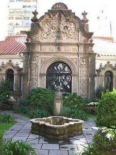 Patio de Museo Casa del escritor Ricardo Rojas, Buenos Aires, AR