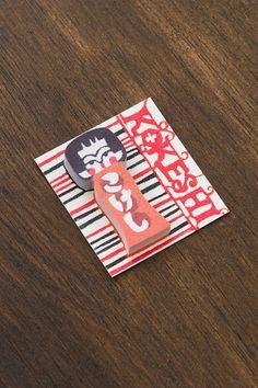 Sticky Notes - Mini Kokeshi Doll