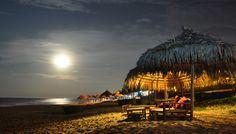 Moonrise at An Bang beach, Vietnam    © steve wilson