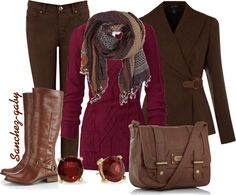 """""""Winter Outfit"""" by sanchez-gaby on Polyvore"""