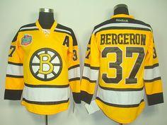 Boston Bruins 37 Patrice BERGERON 2010 Winter Classic Jersey