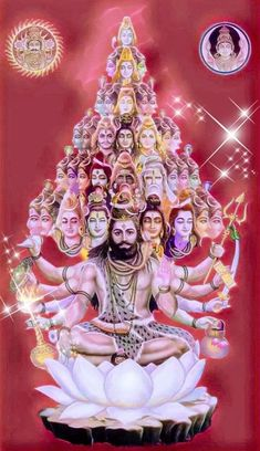 YagyaAnusdhan👉🕉shree Mahakali MahaLaxmi MahaSarswati And Shree Lord shiva as vishvarup or viratrup Lord Shiva Statue, Lord Shiva Pics, Lord Shiva Hd Images, Lord Shiva Family, Lord Vishnu Wallpapers, Shiva Parvati Images, Mahakal Shiva, Shiva Art, Krishna