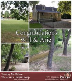https://flic.kr/p/JrEkxt | Congratulations! | Congratulations to Will & Ariel on the purchase of your new home and sale of your last home!  Hope you enjoy the country!  Now to get Ariel some boots!  Thanks for trusting Tommy McMahan and The Jessica Hargis Group again with all your real estate needs!  Glad you are a part of the Jessica Hargis Group Family!