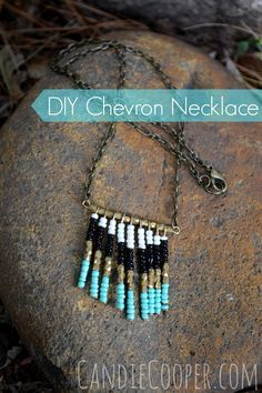 DIY Fringe Necklace from Candie Cooper