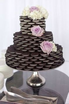 Oreos: bolos de casamento alternativos