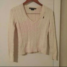 NWOT Ralph Lauren Polo Sport Pullover Sweater Brand new, only worn once. No stains or tears. Fit is true to size (small); would fit xsmall or small but not medium. So comfortable and thick material, I'm only getting rid of it because my closet is getting full Polo by Ralph Lauren Sweaters