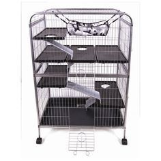Found it at Wayfair - Living Room Series Ferret Cage Bunny Cages, Cat Cages, Rabbit Cages, Bunny Rabbits, Baby Bunnies, Ferret Cage, Pet Ferret, Pet Rats, Chinchilla Cage