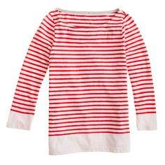 J Crew Striped T-Shirt