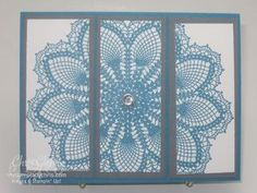 Stampin' Up Hello Doily