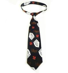 Free shipping! Card Pattern Tie - Black, Magic Trick,Fun Magic,Stage,Close Up,Illusions,Magic Accessories