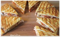 ♥ Low carb plockmat: Grillade quesadillas med majstortillas, kyckling och tomatpesto