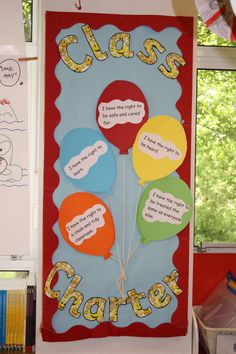 Year 3 class RRS (Rights and Responsibility) board / charter / display. …