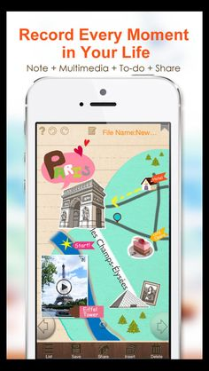 NoteLedge - like a Glogster journal!  https://itunes.apple.com/us/app/noteledge-for-iphone-take/id540666751?mt=8