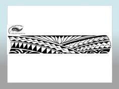 Polynesian Style Arm Tattoo Designs