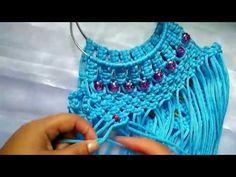 How to make macrame bag tutorial in hindi part -1 - YouTube