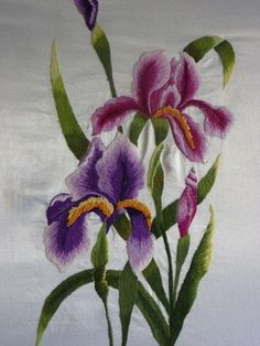 Wonderful Ribbon Embroidery Flowers by Hand Ideas. Enchanting Ribbon Embroidery Flowers by Hand Ideas. Brazilian Embroidery Stitches, Silk Ribbon Embroidery, Crewel Embroidery, Embroidery Thread, Floral Embroidery, Embroidery Supplies, Embroidery Tattoo, Free Machine Embroidery Designs, Hand Embroidery Patterns