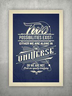 Typography | Poster by Tomasz Biernat, via Behance