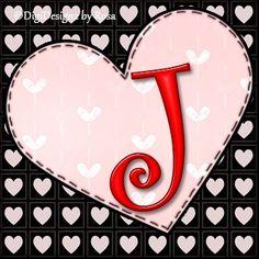 Heart Initials ♥ J