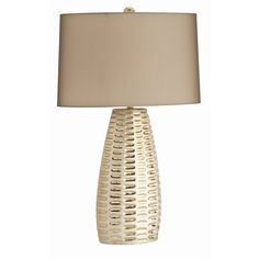 """Limited Production Design: 29"""" Tall Contemporary Porcelain Art Table Lamp * Click Image For Full Screen View"""