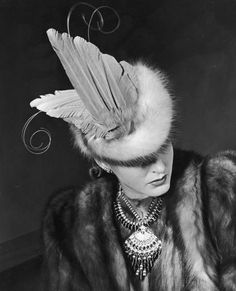 Fred & Ginger Vintage: 1940's Hats