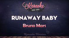 Bruno Mars - Runaway Baby (Karaoke Version)