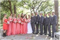 Not only you and your groom will look stunning at your special day. Pick wedding wear that will flatter your whole party during the Denton Bridal Show's fashion portion! #dentoning Photo by ANM Photography
