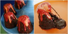 Volcano Cup Cakes