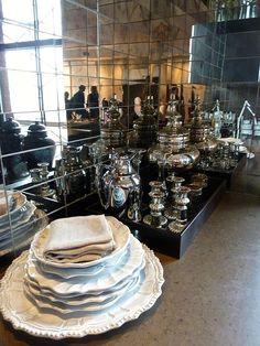 Ann Sacks | Mirror tiles in the kitchen of Antony Todd's Hearst Designer Visions apartment for Veranda @Nicholas Engert