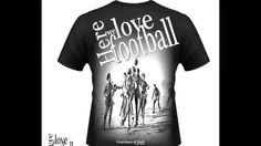 Camisetas para quem ama futebol