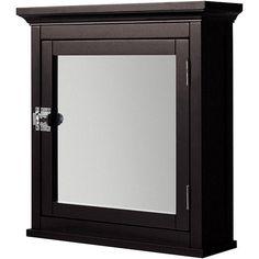 Classique Espresso Medicine Cabinet - Overstock™ Shopping - Great Deals on Elite Bathroom Cabinets