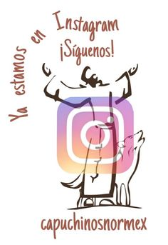 """¡¡Ya estamos en Instagram!! Encuéntranos como """"capuchinosnormex"""". Paz y bien =)"""